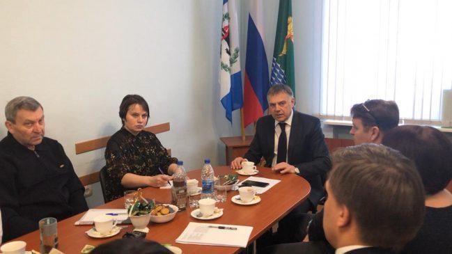 мэр Ангарска встретился с представителями СМИ