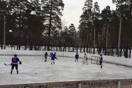 турнир по хоккею среди жворовых команд