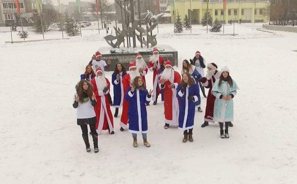 """Новогодний десант """"Родителей Сибири"""""""