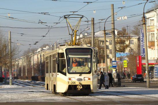 трамвай Ангарск