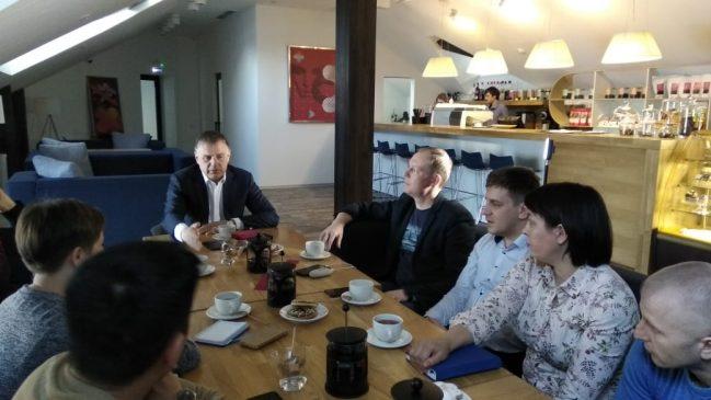 встреча мэра и блогеров